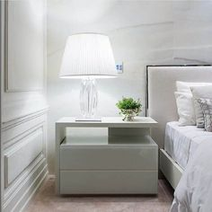 At Boca do Lobo we believe on the bedroom misfits out there, so we've created the Master Bedroom Collection. White Gloss Bedroom Furniture, Bedroom Furniture Sets, Bed Furniture, Furniture Design, Bedroom Bed Design, Modern Bedroom Design, Interior Design Living Room, Bedroom Decor, Modern Bedside Table