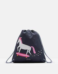 de859272dcc Active Drawstring Bag Back To School Bags, The New School, New School  Year,. Joules UK
