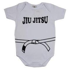 Cegonha Feliz Roupas Bebê Menino : Body Masculino Jiu Jitsu - Piu Blu
