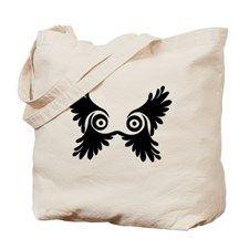 Owl Wings Tote Bag