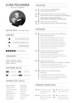 Creative Cv Design, Creative Cv Template, Graphic Design Resume, Resume Design Template, Architectural Cv, Cv Models, Contents Page Design, Portfolio Cover Design, Identity Card Design