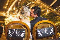 Cadeira dos noivos: inspirações de casamentos reais