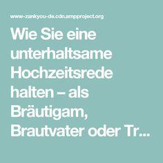 Wie Sie eine unterhaltsame Hochzeitsrede halten – als Bräutigam, Brautvater oder Trauzeuge – Hochzeit in Deutschland · Zankyou.de