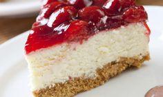 Jahodový cheesecake s želatinou