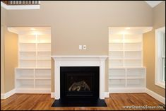 How much do custom built in bookcases cost? | Raleigh custom homes