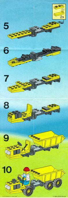 City - Diesel Dumper [Lego 6532]