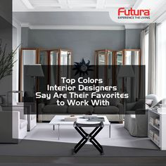Top Colors Interior Designers Say Are Their Favorites to Work With To know more Visit: http://www.futurainterior.com/ #FuturaInterior #ModularKitchen #InteriorDesigns #InteriorDesigners #Designs #Decor