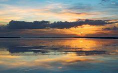 Schiermonnikoog Island   Beaches Sunset Island Sand Europe Netherlands Schiermonnikoog
