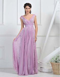 Draped Lace Dress 0904