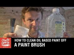 How to Clean Oil Paint Brushes - with ALL White Spirit Recycled! - YouTube