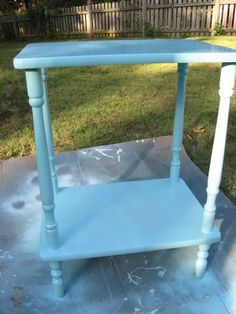 walmart krylon spray paint - blue ocean breeze-need to remember this color