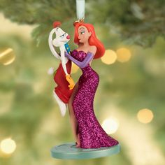Roger Rabbit and Jessica Sketchbook Ornament | Ornaments | Disney Store