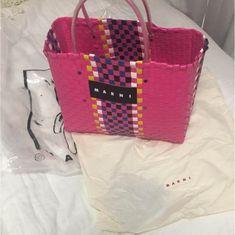 メルカリ商品: MARNI カゴバッグ #メルカリ Tote Bag, Bags, Handbags, Totes, Bag, Tote Bags, Hand Bags