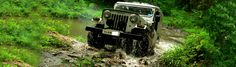 Thekkady Jeep Safari - Enjoy Jeep expedition through this picturesque land and get a close view of those parts inaccessible through foot.The trip covers the dense green vegetation,thick forests,cascading waterfalls and aromatic spice plantations Safari Jeep, Forests, Waterfalls, Spice, Monster Trucks, Wildlife, Activities, Green, Travel