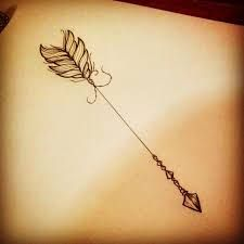 Image result for women arrow tattoo