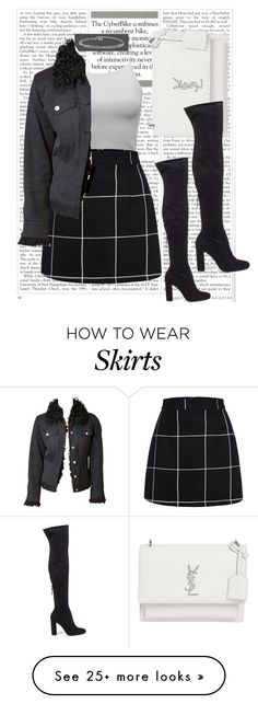 """""""Simple #2"""" by emmab2020 on Polyvore featuring Yves Saint Laurent, Steve Madden and Gucci"""