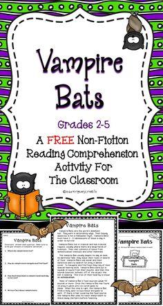 Vampire bats reading comp
