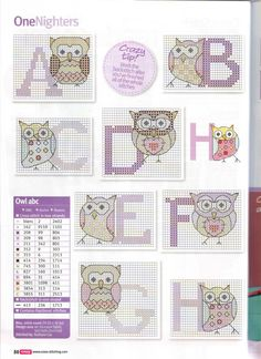 Owls ABC 1/3