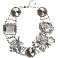 gaga x erickson beamon crystal necklace
