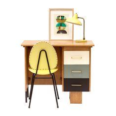 Bureau vintage années 50 #vintage #annees50