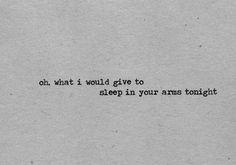 ••Fall Asleep In Your Arms•• | via Tumblr