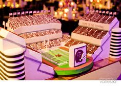 Texas A&M stadium cake.