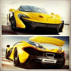The phenomenal McLaren P1