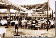 Gazino, 1931 #Suadiye #istanbul #yaşam #eğlence #birzamanlar #gazino