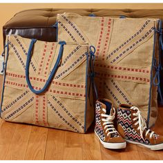 Union Small Jack Burlap Tote