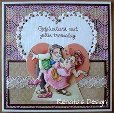 Renata' s Design Art Impressions, 3d Cards, Heart Cards, Bubbles, Diy, Frame, Gifts, Inspiration, Google