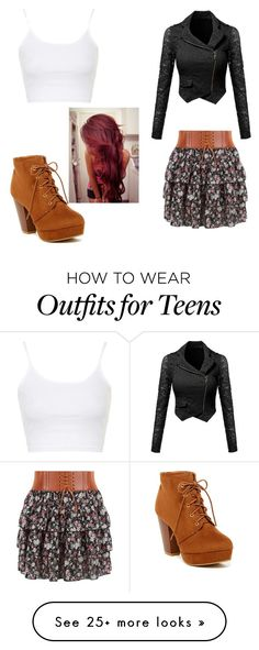 """""""Untitled #65"""" by style-fairy on Polyvore featuring Topshop"""