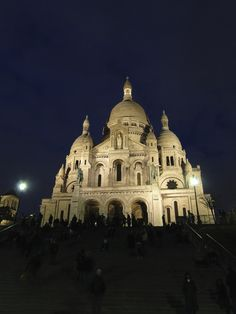 Paris, France, Basillica of sacre coeur! Prob the prettiest church I've seen.