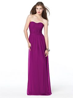 Dessy Collection Style 2834 http://www.dessy.com/dresses/bridesmaid/2834/?color=amethyst&colorid=1#.UoTSU7K9KK0