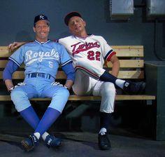 Me and George Brett Kansas City Royals vs. Minnesota Twins Baseball, Pittsburgh Pirates Baseball, Royals Baseball, Baseball Uniforms, Baseball Players, Better Baseball, Baseball Stuff, Mlb, Human Oddities