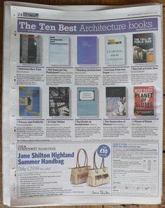 10 architectrue books NY times