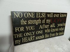 No One Else primitive sign by CountryFolksCreations @ Etsy.com