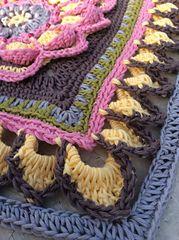 Ravelry: Mandala Blanket CAL Parts 1 - 6 Complete pattern by Sabina Poonwassie