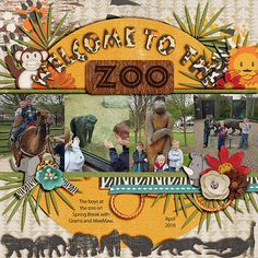 Welcome+to+the+Zoo - Zoobilee Collection Bundle by Meagan's Creations. Digi