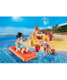 Fun at the Beach Item Number: 4941 Egg Yellow, Playmobil Sets, Play Mobile, Baby Doll Nursery, Beach Items, Barbie Toys, Legoland, Beach Fun, Cool Toys
