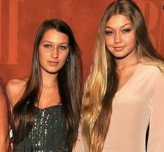 Young Gigi and Bella hadid Pretty People, Beautiful People, Bella Hadid Makeup, Gigi Hadid And Zayn, Plastic Surgery Photos, Bella Hadid Outfits, Long Hair Styles, Celebrities, Beauty