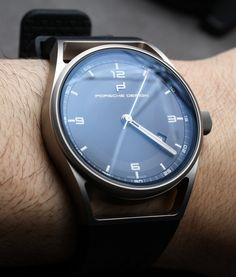 7baa9d49034 Porsche Design 1919 Datetimer Eternity Watches Hands-On Hands-On Relógios  Para Homens