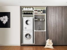 """Fantastic """"laundry room stackable washer dryer"""" detail is offered on our internet site. Have a look and you wont be sorry you did. Basement Laundry, Laundry Room Organization, Laundry In Bathroom, Laundry Rooms, Laundry Cupboard, Laundry Area, Basement Bathroom, Washroom, Organization Ideas"""