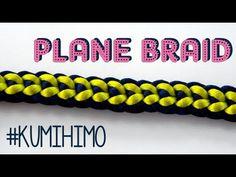 KUMIHIMO PLANE - KUMIHIMO PLANO - YouTube