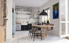Уютные скандинавские апартаменти в Готенберге - Галерея 3ddd.ru