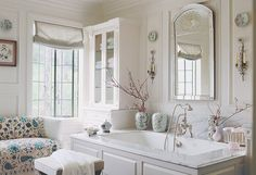 master bath designed by Mary McDonald