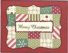Christmas Card Challenge (Hope) - Club CK - The Online Community and Scrapbook Club from Creating Keepsakes