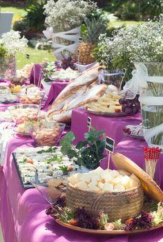 Buffet de quesos