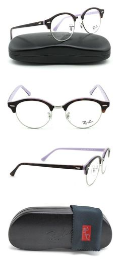 144073d688d2b Amazon.com  Ray-Ban RX4246V ClubRound Unisex Eyeglasses (Dark Havana Frame  2012
