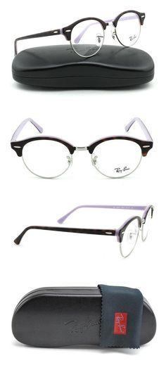 f4776a0afbc3 Amazon.com  Ray-Ban RX4246V ClubRound Unisex Eyeglasses (Dark Havana Frame  2012