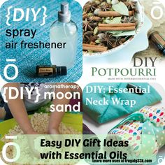 Easy DIY Christmas Gift Ideas with Essential Oils! #doterra #cheap #Christmasonadime